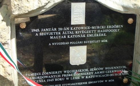 Murcki | 28 stycznia, godz.15.00 Zapraszamy na uroczystość upamiętniającą rocznicę śmierci 29 jeńców węgierskich, którzy 28 stycznia 1945 roku zostali bestialsko zamordowani przez żołnierzy Armii Czerwonej w lesie murckowskim. O […]