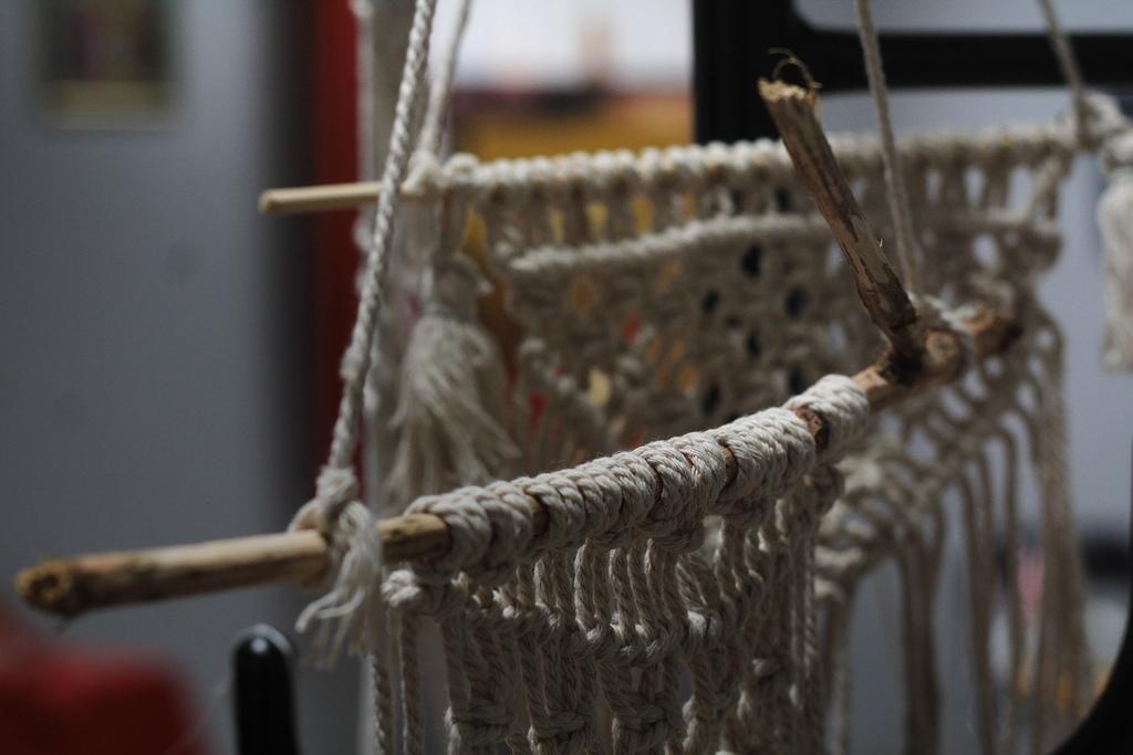 wystawa twórcy murckowscy 2020 makramy agnieszki brzozowskiej